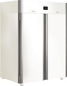 Холодильный шкаф с металлическими дверьми CV110-Sm