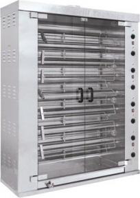 Гриль двухрядный 15-шампурный электрический МК-10.82Э