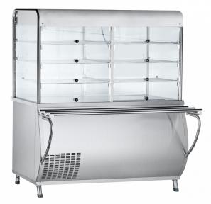 Прилавок-витрина холодильный ПВВ(Н)-70М-С-ОК