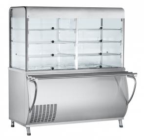 Прилавок-витрина холодильный ПВВ(Н)-70М-С-НШ